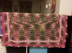 Baby Girl Camo Blanket