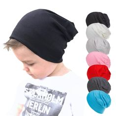 f89923c04b6 Knit Winter Warm Ski Crochet Slouch Hat Cap Beret Beanie for Baby Boys Girl