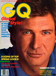 Harrison Ford for GQ, April 1982