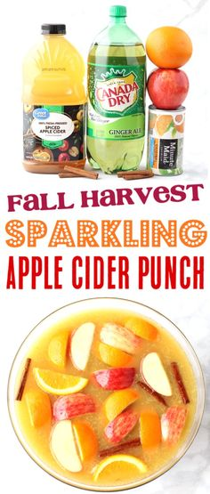 Fall Party Punch Recipes Fall Party Punch Recipes Party Punch Recipes - Apple Cider Non Alcoholic Fall Sparkling Punch Recipe! This apple orange cinnamon harvest punch captures all of your favorite autumn flavors, and is always the hit of the party! Fall Punch Recipes, Alcoholic Punch Recipes, Party Punch Recipes, Drinks Alcohol Recipes, Non Alcoholic, Fall Recipes, Drink Recipes, Wedding Punch Recipes, Alcoholic Desserts
