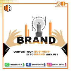 Want to stand out your brand in the market? #HsRiar will help you to do that with latest #marketing strategies. Don't wait.... Contact Us Now Email: hsriar.work@gmail.com Whatsapp: +91 9664640420 #marketing #brand #startup #businessgrowth #digitalmarketing #growbusiness #socialmediamarketing #seo #smo #socialmedia #value #creative #business #websitedesigner #digitalmarketer Marketing Strategies, Social Media Marketing, Digital Marketing, S Mo, Creative Business