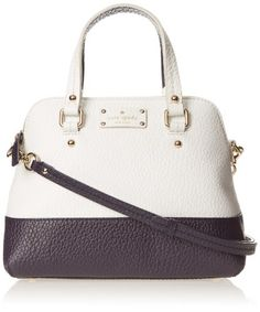 kate spade new york Grove Court Maise Top Handle Bag,Fresh White/Midnight,One Size kate spade new york http://www.amazon.com/dp/B00FLCWOSS/ref=cm_sw_r_pi_dp_YT8-tb0GHZABR