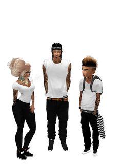 My imvu family and I... Swag family <3