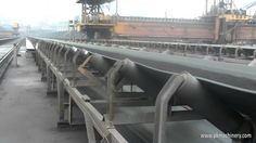 Fixed Belt Conveyor for Coal Transportation Onsite