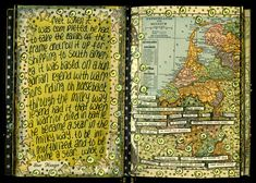 Ingrid Dijkers....  Love how she transformed the map....