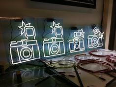 neon signs Lomography by ND