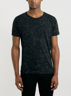 Selected Homme Black T-Shirt