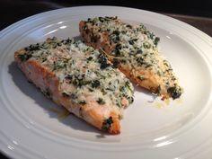 Überackenes Lachsfilet // Baked Salmon