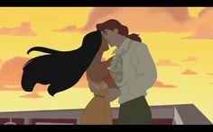 Pocahontas and John Ralph