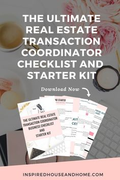 Work remotely as a real estate Transaction Coordinator. Are you a real estate agent looking to transition to TC work, a Virtual Assistant wanting to specialize in the profitable real estate niche, just starting to learn about what a TC is and does? Download the Transaction Coordinator Checklist and Starter Kit and learn how to get started.