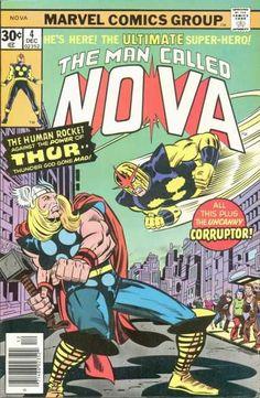 Human Rocket - Thor - Crossover - Corrupter - Hammer - Adi Granov, Jack Kirby Nova 4 marvel comics covers the man called
