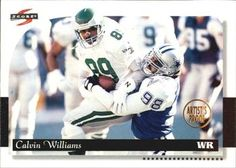 1996 Score - Artist's Proofs #122 Calvin Williams Front