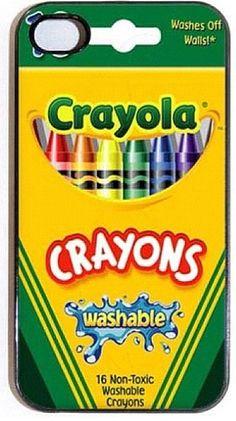 crayon phone case