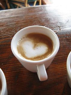 """See, you love coffee and coffee loves you!"" 