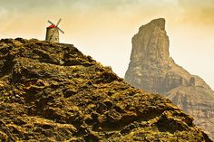 Paisaje Natural Park, Canario, Canary Islands, Tenerife, Windmill, Science Nature, Monument Valley, Places Ive Been, Places To Visit