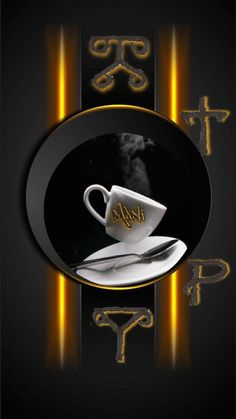 GIF by Mani Ivanov. Discover all images by Mani Ivanov. Good Morning Gift, Good Morning Coffee Gif, Good Morning Flowers, Coffee Cafe, Coffee Drinks, Arte Starbucks, Parisian Cafe, Love You Images, Coffee Images
