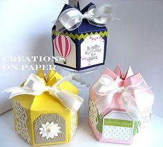 Creations on Paper: Altered Milk Carton Boxes