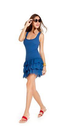 noidìnotte Collezione Spring/Summer 2012 € 22,90  ABITINO DONNA DOLLY SPALLA LARGA COSTINA E COTONE   #pigiama #easywear #look