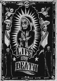 poster. love the Christian symbols and the baditos