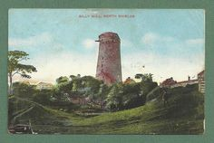 Billy Mill near North Shields in 1904 North Shields, Old Windmills, North East England, 1 Place, North Yorkshire, My Heritage, Newcastle, United Kingdom, Coast
