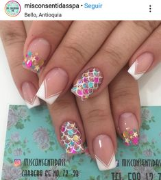Cute Nails, Pretty Nails, Bio Sculpture Nails, Elegant Nail Art, Abstract Nail Art, Classic Nails, Nail Time, Bright Nails, Xmas Nails