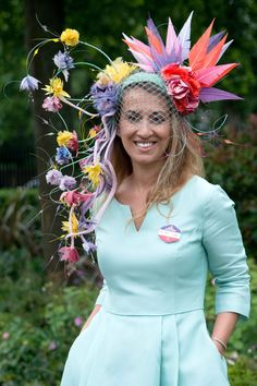 The 37 Craziest Hats From Royal Ascot 2016 - Cosmopolitan.com
