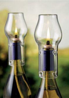Wine Bottle Oil Lamp Kit <3