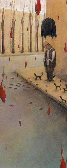 By Francesca Dafne Vignaga.  Kinda in love with those cats.