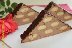 Un desert rapid, pregatit cu budinca de ciocolata de la reteta anterioara…
