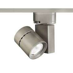 "WAC Lighting L-1035F-835 Exterminator II 5.25"" Wide 3500K High Output LED Track Brushed Nickel Indoor Lighting Track Lighting Heads"