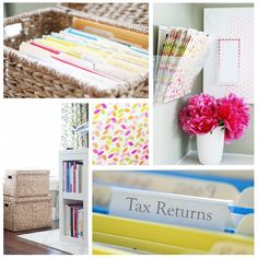 I <3 this blog! Tons of organizing ideas, cleaning tips, decorating tips, etc.