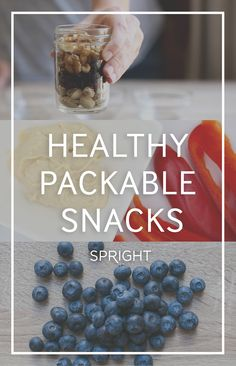 Healthy, Packable Snacks to Balance Any Diet | spright.com
