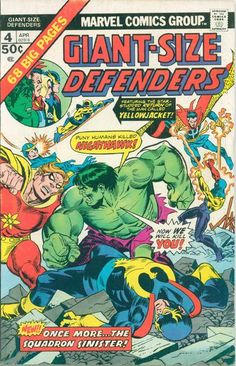 """NEW! Marvel's injustice league strikes and Hank Pym stings; his foe Egghead has the dumb idea of setting a car bomb - and it hits Eggy's daughter instead (Trish Starr returns since Hank's """"Marvel Feature"""" days; her left arm doesn't). OLD! Namor in the Golden Age; Dr. Strange in the Silver Age."""