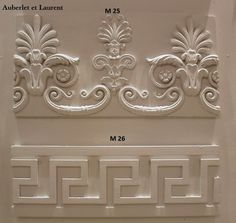 Moulure rosace plafond en platre castel like pinterest for Moulure en platre