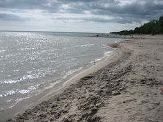 My Happy Place - Long Point Beach, Ontario.    #GILOVEONTARIO  I got engaged on this beach in February of 2012!