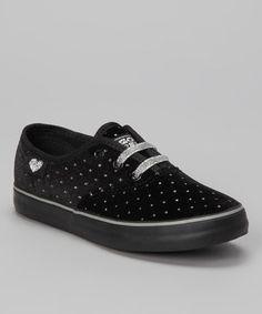 Look at this #zulilyfind! Black Snowflake Sneaker by Gotta Flurt #zulilyfinds