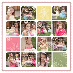 microsoft word photo collage template