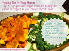 Healthy Tips for Busy Mamas: Tip #1