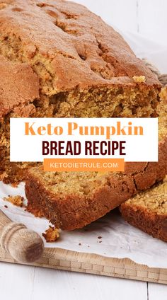 The Best 5 Pumpkin Keto Recipes to Fall Everything pumpkin, pumpkin bread, pumpkin cheesecake, pumpkin pie. Super easy and delicious low-carb pumpkin recipes for your keto diet meal plan. Healthy Low Carb Recipes, Low Carb Dinner Recipes, Low Carb Desserts, Ketogenic Recipes, Keto Recipes, Dessert Recipes, Ketogenic Diet, Breakfast Recipes, Diet Breakfast