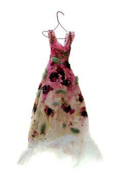 Wilde Kleider - Wild Dresses 1- 130 by Beatrice Oettinger, via Behance