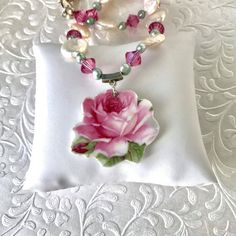 Hey, I found this really awesome Etsy listing at https://www.etsy.com/listing/241045522/broken-china-jewelry-necklace-bridal