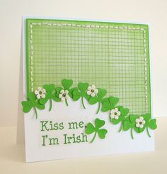 st patrick's day cards to make - Google Search