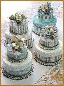 """""""Garden Cake"""" Favor Box"""