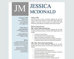 Cute Resume Templates So Cute Modern Resume Template Minteasyresume On Etsy $999