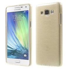 Samsung A5 TPU case, cover, hoesje Champagne