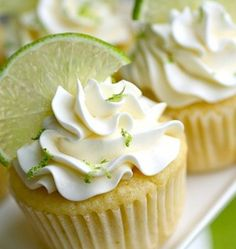 Fancy - Lime & Marguerita Cupcakes