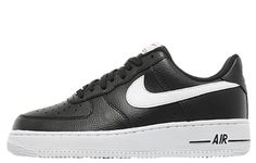Nike Air Force 1 Black White. Available now.  http://ift.tt/1IzPUZy