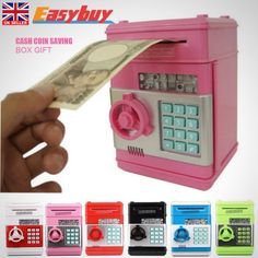 Coin note counter atm bank cash #machine #saving #money box gift piggy bank safe ,  View more on the LINK: 	http://www.zeppy.io/product/gb/2/172248886618/