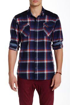 Emile Long Sleeve Plaid Shirt