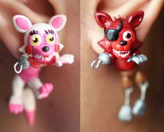 FNAF Adventure Foxy and by ArtzieRush on Etsy